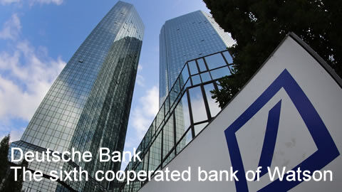 Deutsche Bank, the sixth cooperated bank of FCAD
