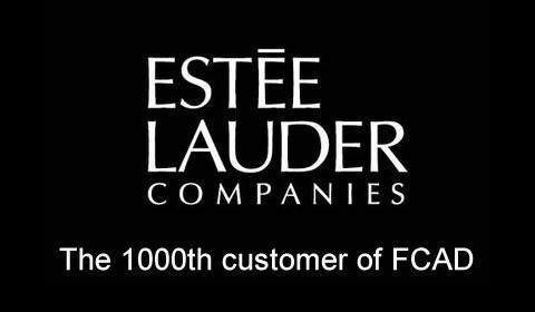 Estee Lauder becomes the 1000th customer of FCAD