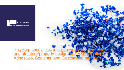 PolyBerg, expert of organic/polymer syntheses and structure/property design for CASE (Coatings, Adhesives, Sealants, and Elastomers) materials.